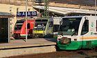 Bahnhof Hof mit drei verschiedenen EVU