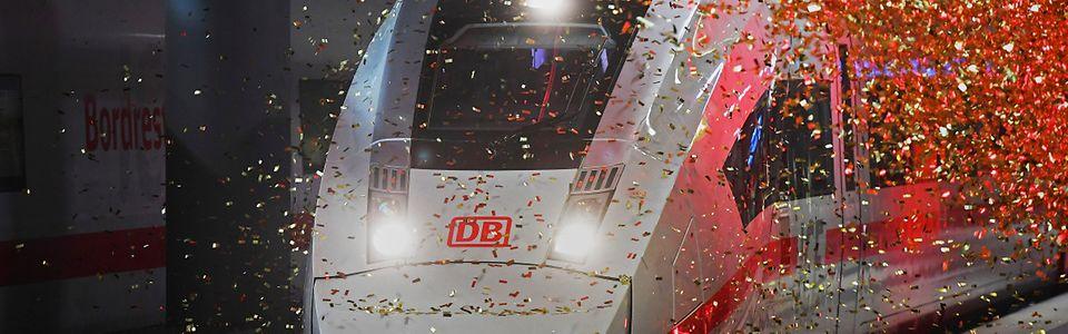 Weltpremiere ICE 4 - Präsentation im Berliner Hbf