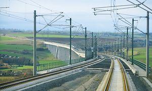 VDE 8.2 - die schnelle Eisenbahnstrecke zwischen Halle/Leipzig und Erfurt