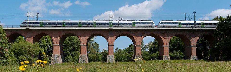 Eisenbahnkarte