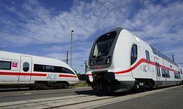 ICE T neben Intercity 2