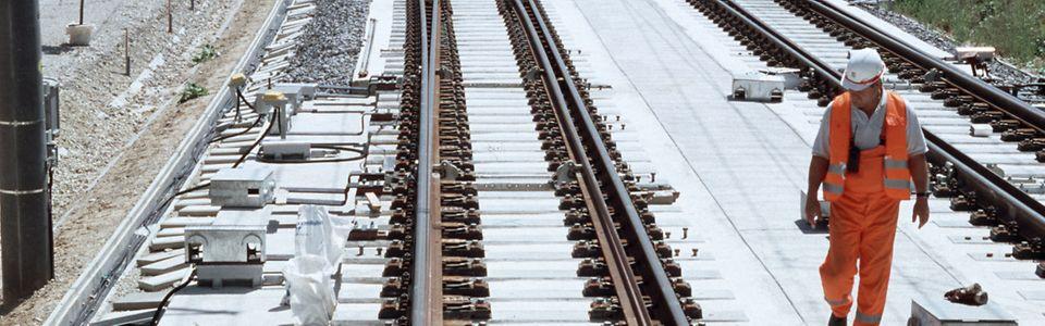 Weiche mit 3 Verschlüssen (Endmontage), SFS Nürnberg - Ingolstadt