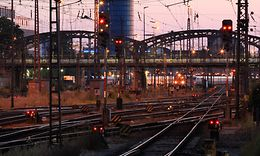 München Hbf Gleisvorfeld