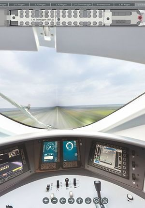 Panoramarundblick ICE 3 BR 407