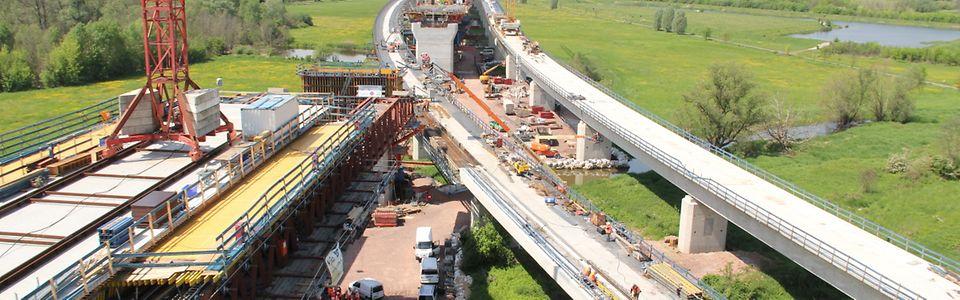 VDE 8: Saale-Elster-Talbrücke