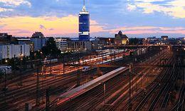 München Hbf, südliches Gleisvorfld
