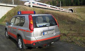 Einsatzfahrzeug eines Notfallmanagers der DB Netz AG