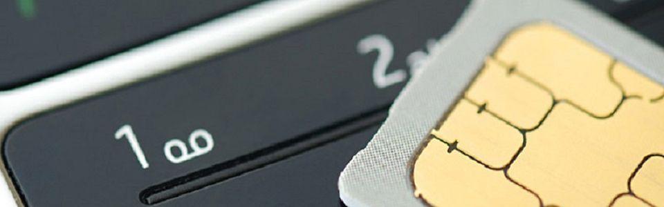 Handy und SIM-Karte