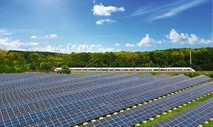 Solarstromanlage in Wittenberge