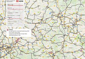 Online-Anwendung strecken.info