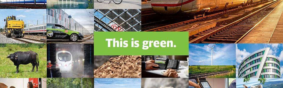 Das ist grün.