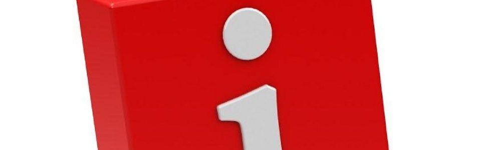 rotes Ausrufezeichen